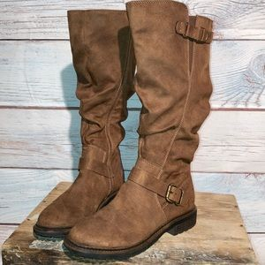 """9.5 Sonoma """"leather like"""" tall boots"""